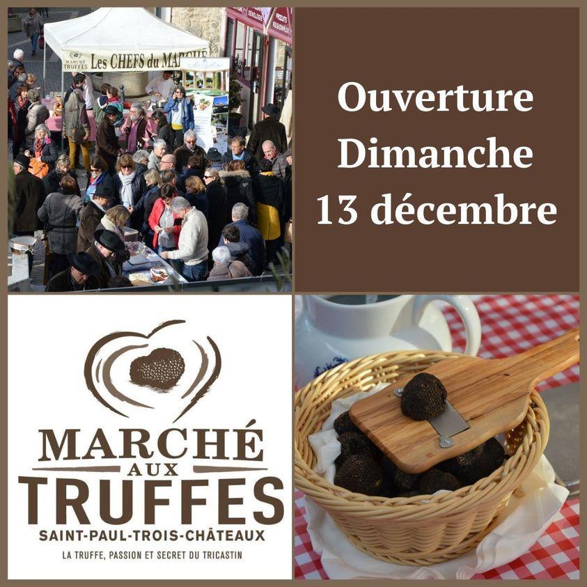 Ouverture du marché aux truffes