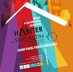 """Exposition """"Habiter en Tricastin de la Préhistoire au Moyen Âge"""""""